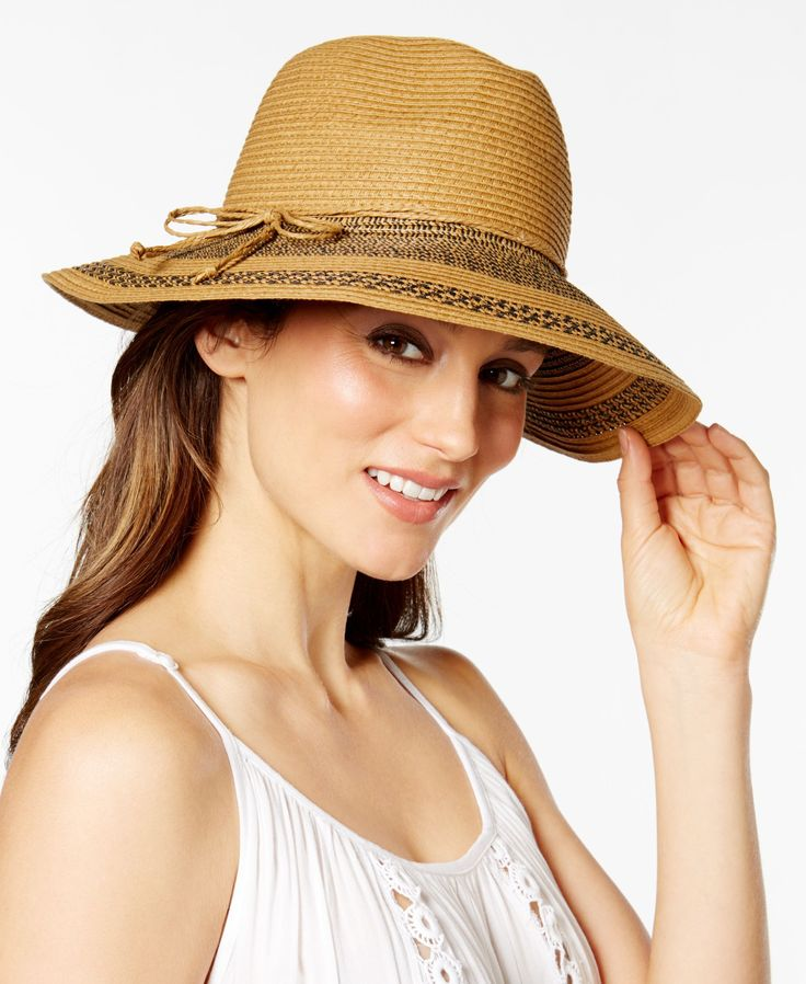 August Hats Woven Wonder Large Fedora