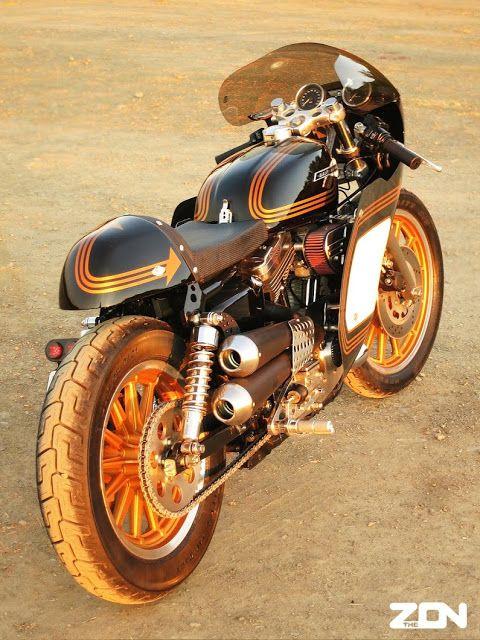 Harley Davidson Sportster By Zen Of Neato