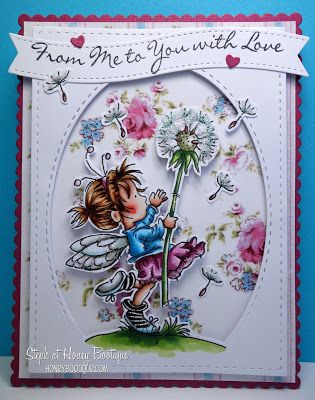LOTV - Time Flies with Shabby Shack Paper Pad and Handwritten Phrases Sentiment by Steph Hill