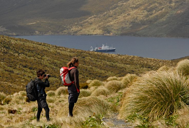 Taking a hike on the gorgeous Island of the Sub-Antarctic ©NRuss