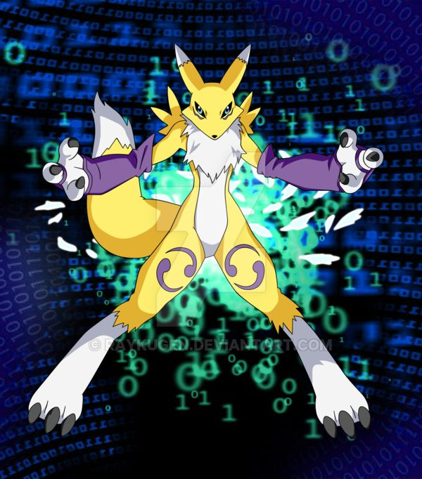 Commission: Renamon from Digimon Tamers by Raykugen on @DeviantArt