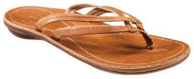 OluKai U'i Thong Sandals for Ladies - Sahara/Sahara - 11 M