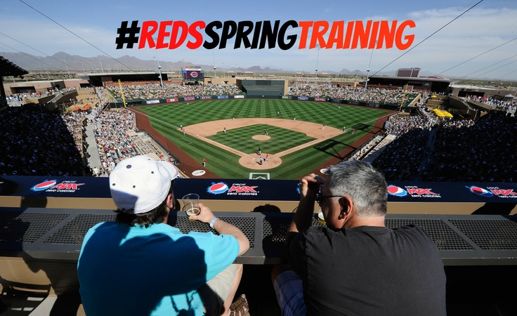 Are you going to Reds Spring Training 2013? Share your photos with the hashtag #redsspringtraining and we'll repin them to our Spring Training Board for all the world to see! Now get out there are start taking awesome pictures! www.reds.com/spring