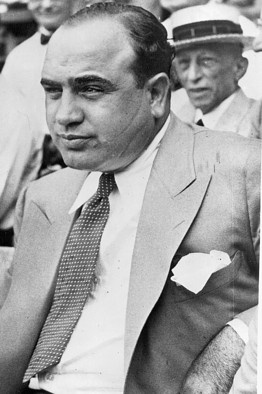 Crime: Al Capone represented the gangsters of the 1920s, convicted of tax evasion and allegedly conducting the St. Valentine's Day Massacre. He is an example of the gangs and crimes surfacing during this time period.