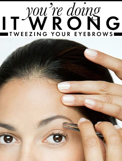 8 best images about Eyebrow Plucking Tips on Pinterest ...