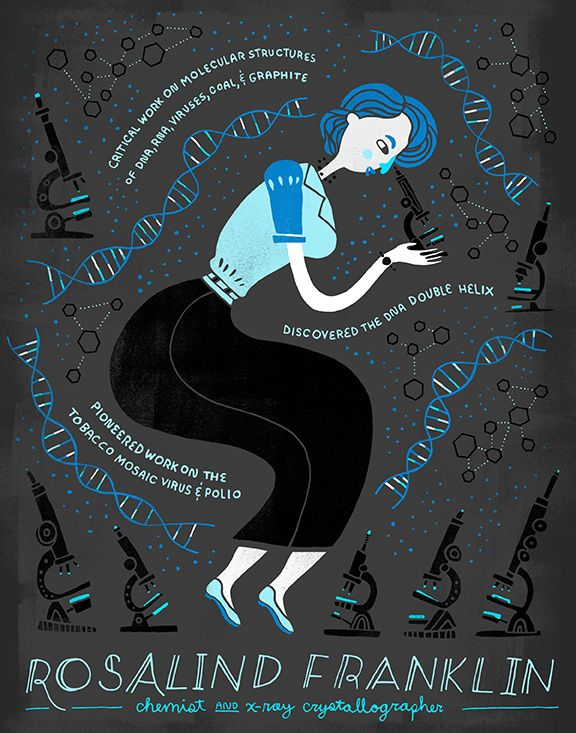 These gorgeous posters of women scientists are pleasing to the eye for all the right reasons. See why our girls need to see them, on Babble.