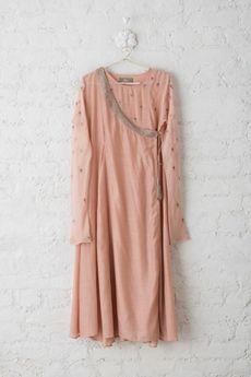 Goodearth - Zeenat:Cotton Silk Angrakha
