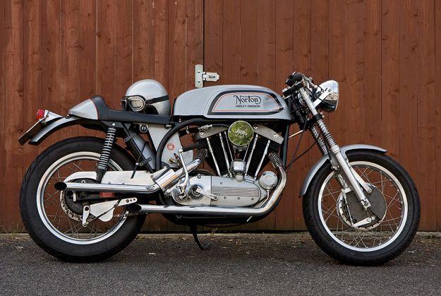 Norton-Harley Cafe Racer