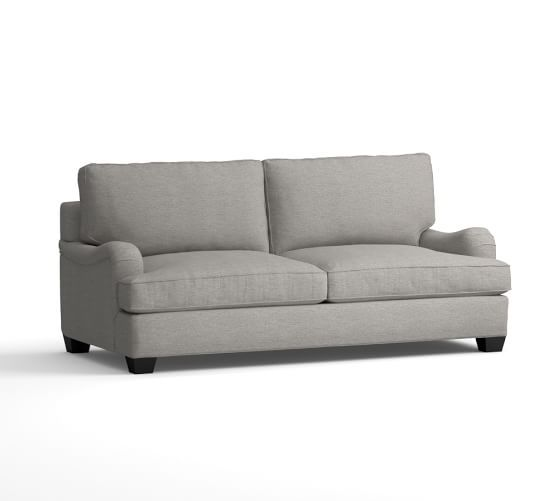 PB Comfort English Roll Arm Upholstered Sofa | Pottery Barn