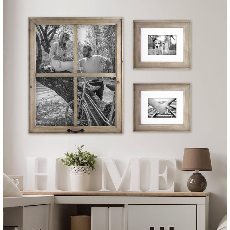 Home And Garden Picture Frames : Best ideas about collage frames on wall