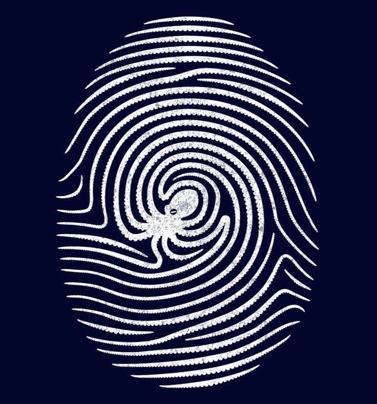 Octopus fingerprints - pretty sure this is a part of my identity