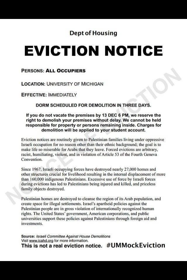 Printable Sample Notice Eviction Form