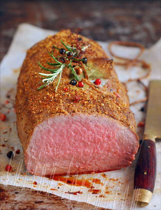 Pepper Seasoned Beef Eye Round Roast