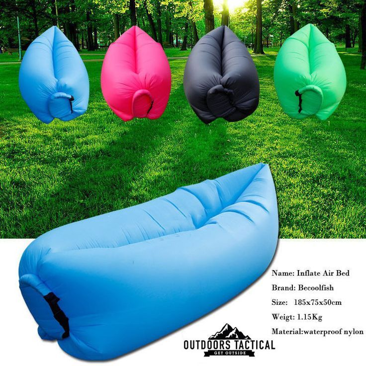 OTLAZ Fast Inflatable Camping/ Outdoors Lounger Camping