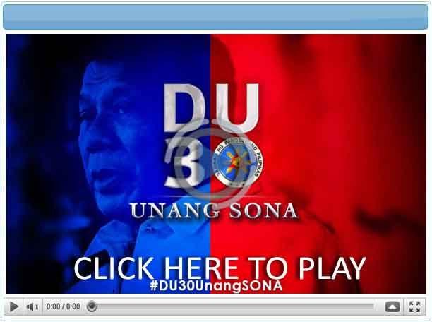 Du30: Unang SONA - Pinoy Show Biz  Your Online Pinoy Showbiz Portal