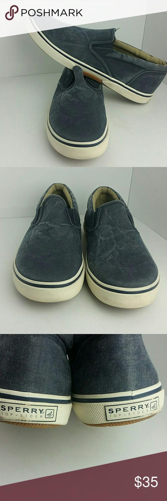 SPERRY TOP-SIDER MEN'S SHOES VERY CLEAN INSIDE-OUT   SKE # TKO Sperry Top-Sider Shoes Sneakers