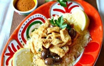 pollo marocchina