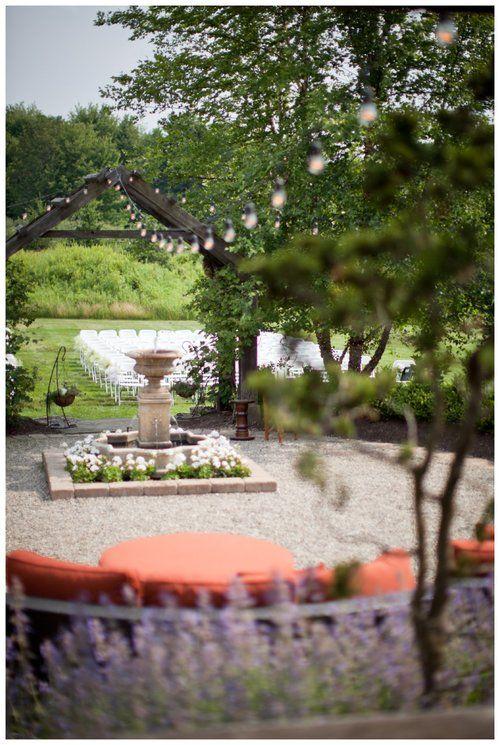 unique wedding venues thorncreek winery aurora ohio lily glass