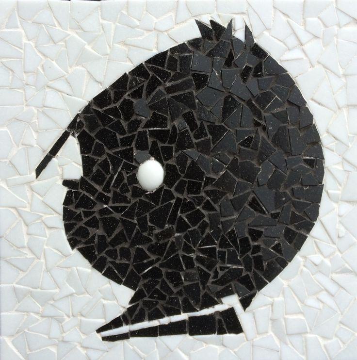 Mozaiek pakket Job, inclusief alle steentjes, patroon, carbonpapier en voegmiddel. € 9,95