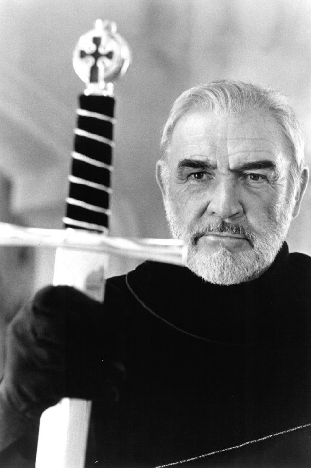 God makes us strong only for a while, so that we can help each other. (Sean Connery as Arthur – First Knight, 1995)