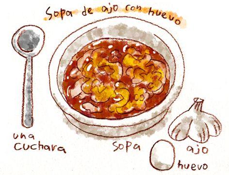 食いしん坊のスペイン語の画像:週間山崎絵日和