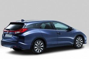 The Honda Civic Tourer has been revealed ahead of its public debut at