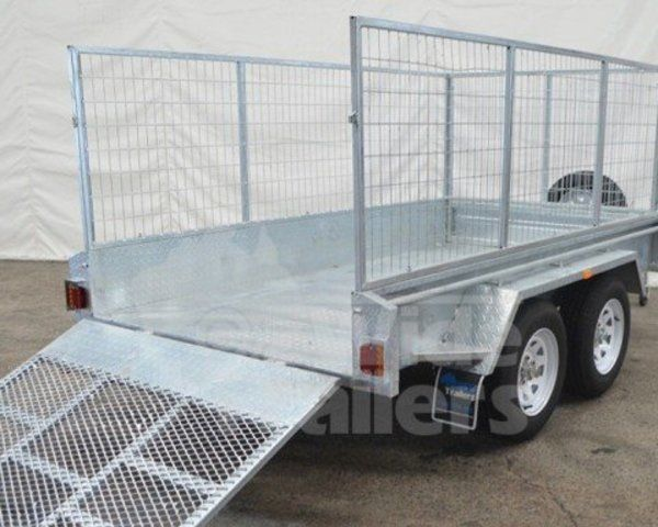 Oz Wide Trailers produces a range of High Quality Trailers. Trailers include: 7x4, 7x5 and 8x5 Single Axle Trailers, 8x5 and 10x5 Tandem Trailers, Motorbike Trailers and Off Road Trailers.All of our trailers come with numerous upgrade options....
