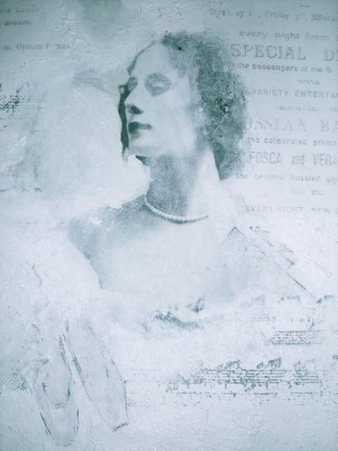 Collage,ANNA PAVLOVA,made by UNNI HOFF
