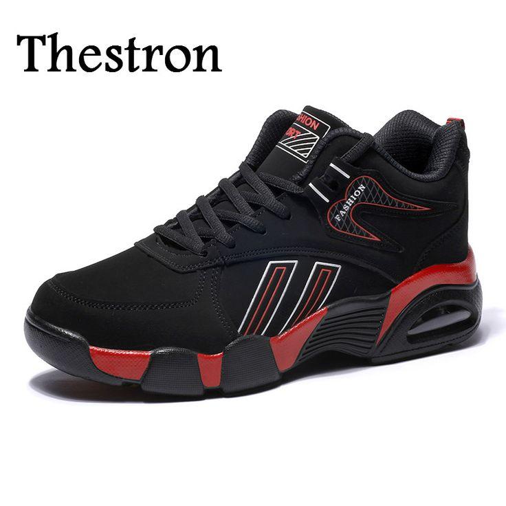 Thestron Men Running Sneakers Winter Shoes For Men Sports Mid Top Sport Brand Sneakers Men Good Quality Running Shoes For Men #Affiliate