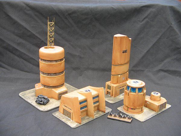 Tau buildings