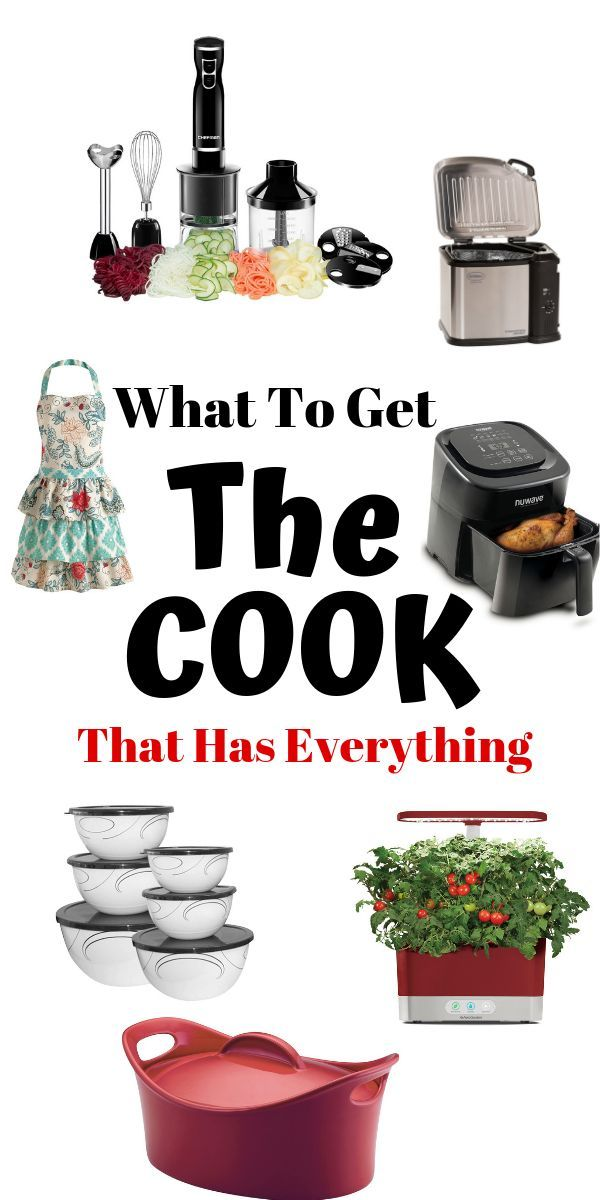 Kitchen Gifts For The Cook Who Has Everything Top Products For