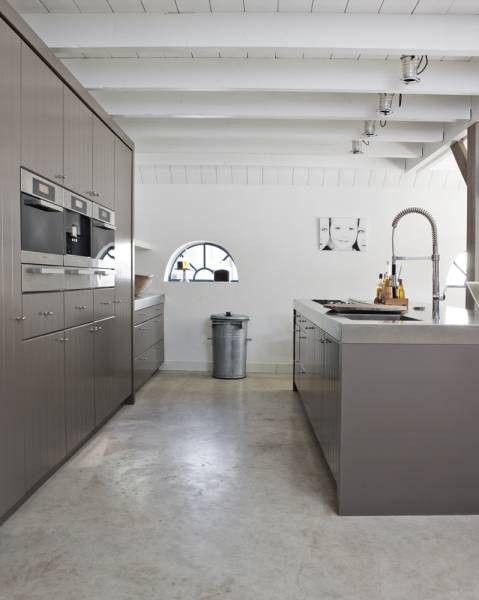 Cove & Grey: Concrete Floors