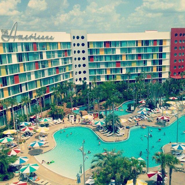 Universal's Cabana Bay Beach Resort in Orlando, FL