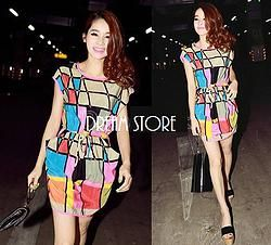 Butterfly Colours Dress