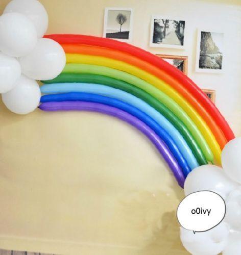 Celebración fiesta de cumpleaños globo Magia largo-fondo conjunto de Arco Iris | Hogar y jardín, Tarjetas y suministros para fiestas, Suministros para fiestas | eBay!