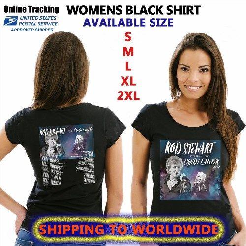 16.48$  Watch here - http://vimvp.justgood.pw/vig/item.php?t=f12rwo9578 - ROD STEWART TOUR DATES 2017 BLACK SHIRT S-3XL SIZE GENDING 16.48$