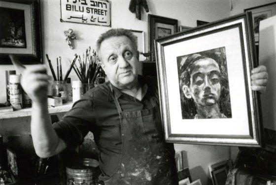 Yosl Bergner Picture taken in 1986.