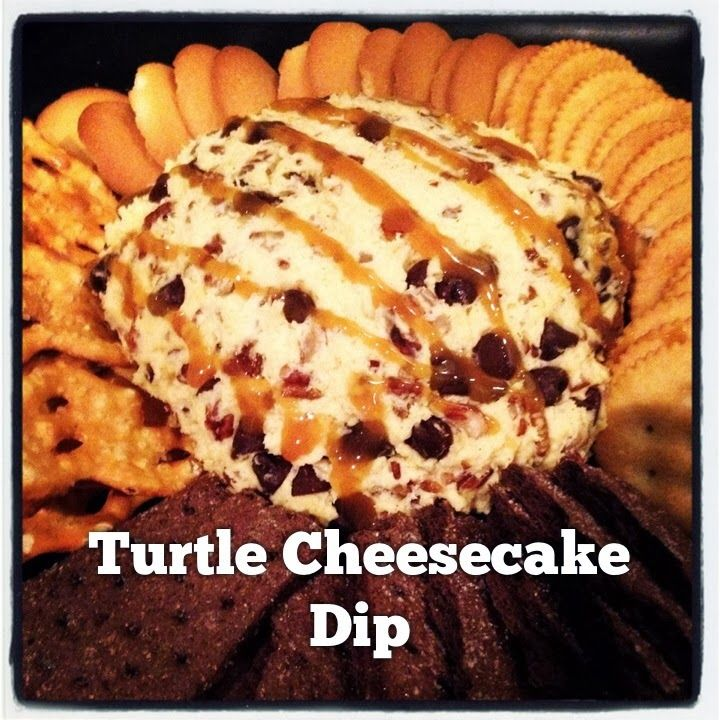 Rayah Sunshine: Quick & Simple Dessert ~ Turtle Cheesecake Dip