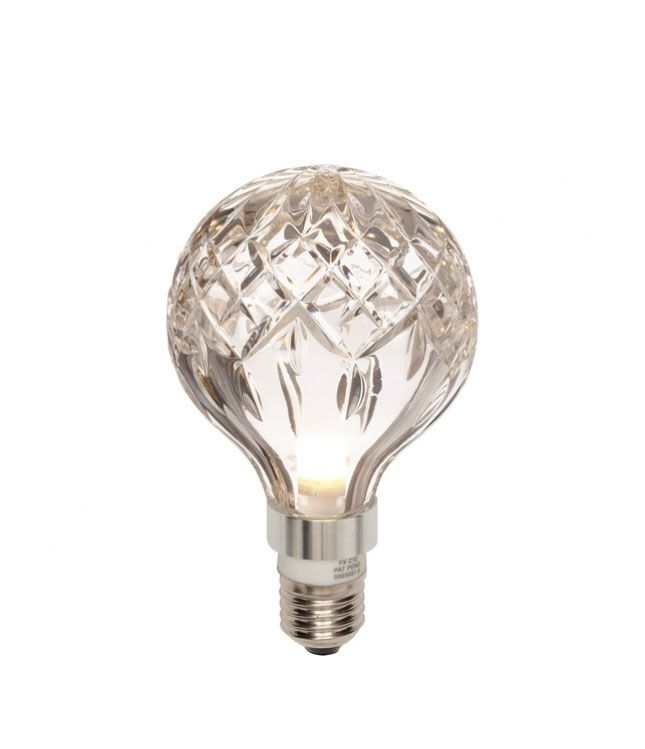 Lyspære Crystal LED