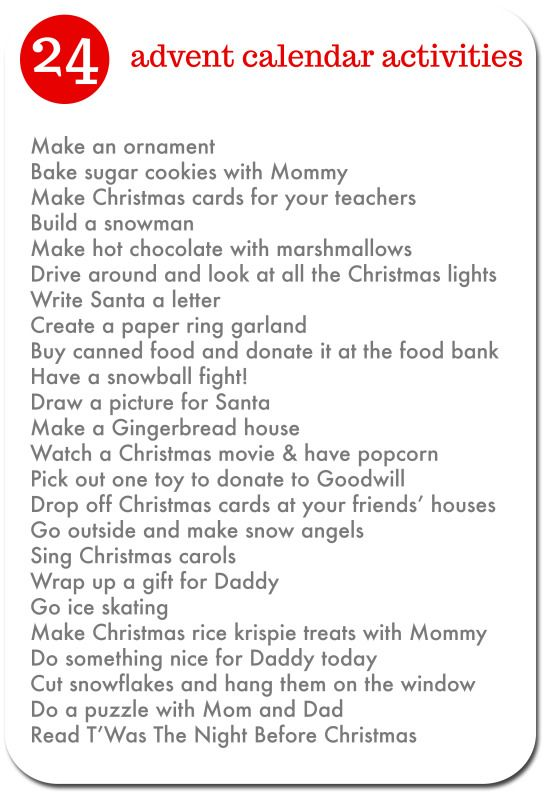 Advent Calendar Ideas Religious : Advent calendar activities the holidays pinterest
