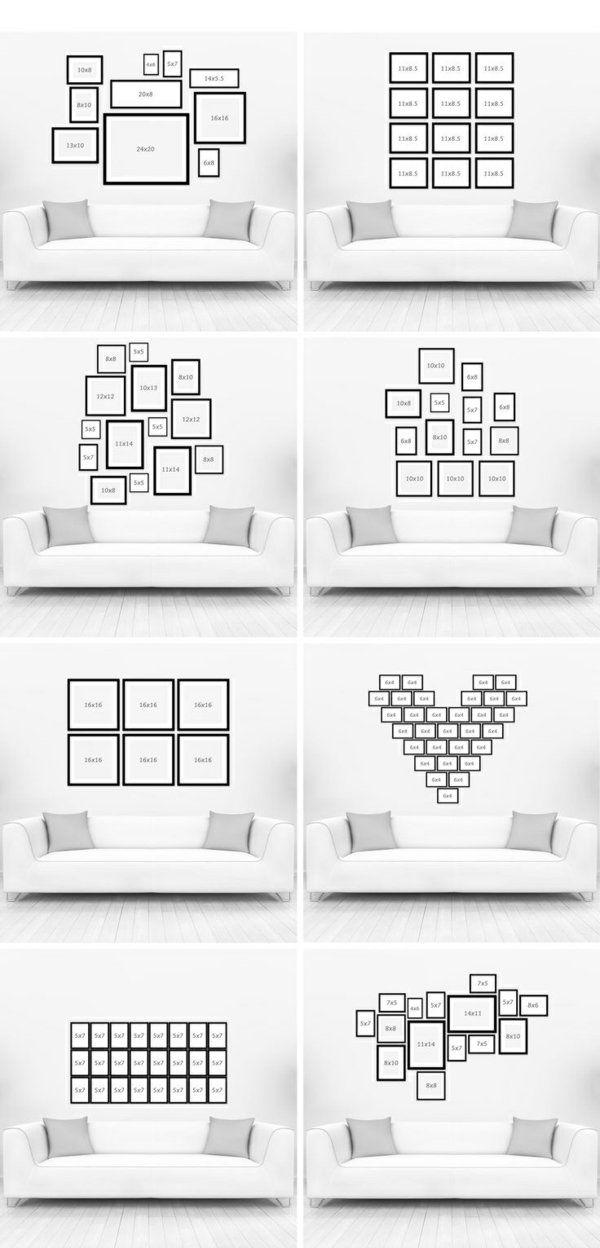 die 25 besten ideen zu foto anordnung auf pinterest. Black Bedroom Furniture Sets. Home Design Ideas