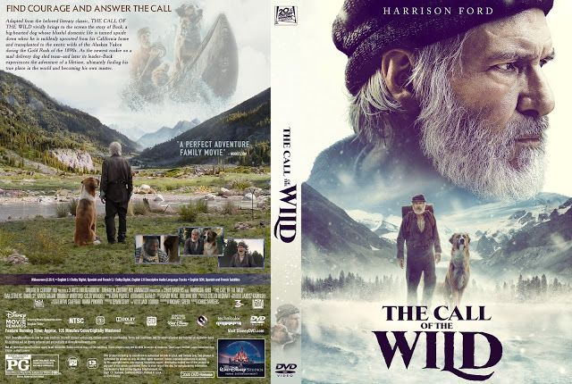 The Call Of The Wild Dvd Cover In 2020 Call Of The Wild Dvd Covers Full Movies Online Free