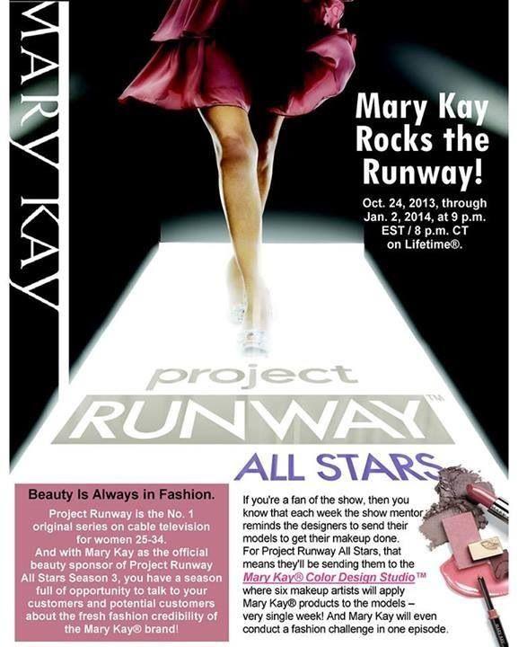 Mary Kay patrocina este concurso en América! Es el maquiladora oficial del programa :) Mary Kay rocks the Runway! #patrocinio #runaway #maquillaje #estrellas