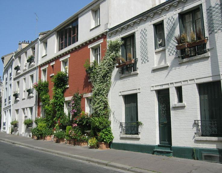 La cité Florale Paris XIII ème