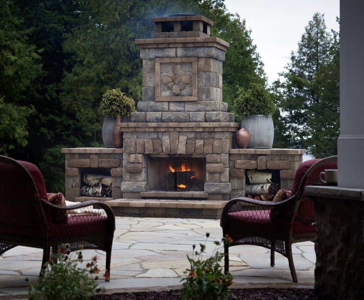 Outdoor Fireplaces Revolutionaries And Fireplaces On