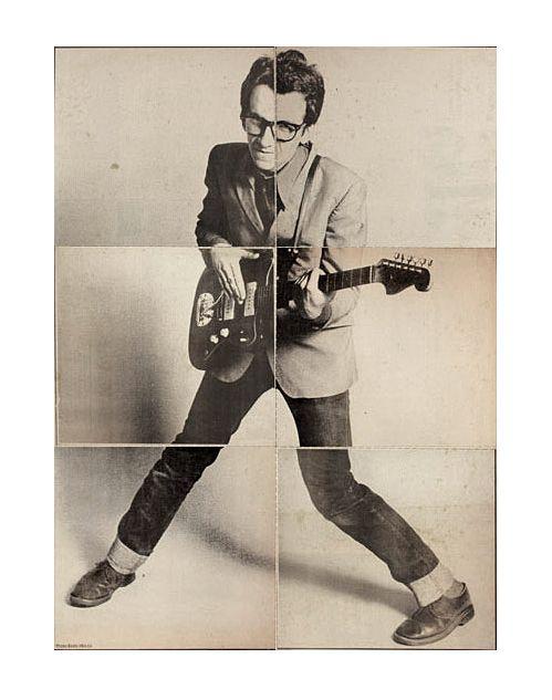 Elvis Costello. My aim is true stance