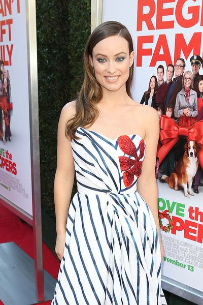 "Olivia Wilde attends the ""Love The Coopers"" Holiday Luncheon Benefiting The LA Regional Food Bank at The Grove on November 12, 2015 in Los Angeles, California."