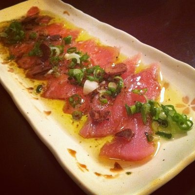 Tuna Carpaccio Recipe