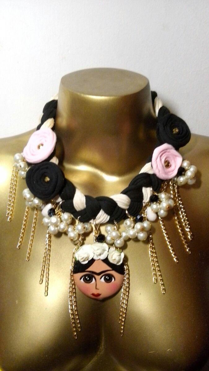collares artesanales de frida kahlo de cuentas - Buscar con Google