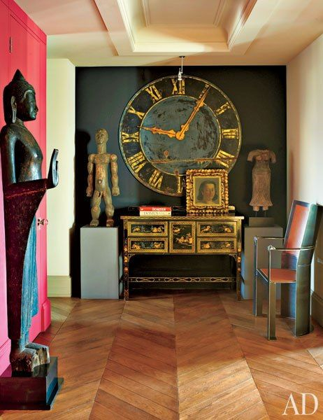 Russian Design...  There are so many things I love about this apartment !!! The home belongs to designer and architect, Dmitry Velikovsky.